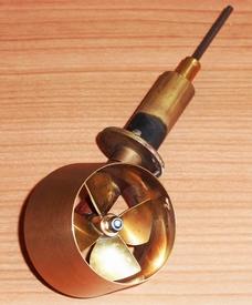 Gramcko Schottelantrieb 50mm met raboesch Schroef