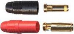 Goldplug 7mm ANTIBLITZ  14gram 300A 1 paar M+F regelaar
