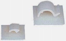 Graupner 610.1 Kabelhouder zelfklevend 25x25mm 5st