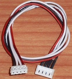 Balanceer verlengkabel LIPO 3S EH 30cm silikon 0,25mm2 58461