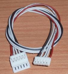 Balanceer verlengkabel LIPO 4S EH 30cm silikon 0,25mm2 58462
