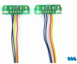 Carson 907387  LED-Platinen 7-Kammer-Rückleuchten 7,2V L+R