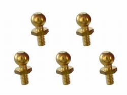 Tamiya 50590  4mm Ball Connector messing M2  (5pce)  Envelop