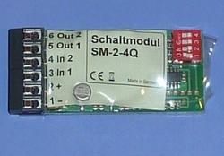 Beier SM-2-4Q Schakelmodul 10Amp , 4x ingang 2-15V