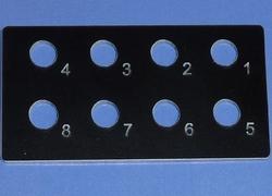 Beier SB-16-R Schalterblende voor NMS-16-R of EMS-16-R  Envelop
