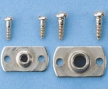 Graupner 725.6 Aanschroefmoer M6 (10 Stück)