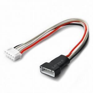 Balanceer Verleng Kabel 15cm 5x0,25mm2  XH 4S LiPo, BEEC1203