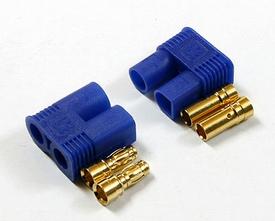 EC3 Connector set Blauw 60Amp  (1M+1F)   Envelop