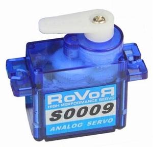 Robbe ROVOR S0009 Servo 9 Gram 6V 1,5Kg 0,10s    Envelop
