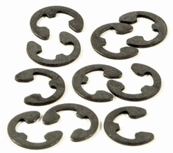 Borgclip Staal E-Clips voor As 2,3mm 20pcs  AE7781/21