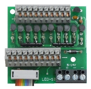 Beier AKL-10-K Extra aansluitklem constantuitgang USM-RC2