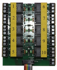 Beier AKL-10-R-6V relaisplaat 10x voor  USM-RC2 / EXM-2  Envelop