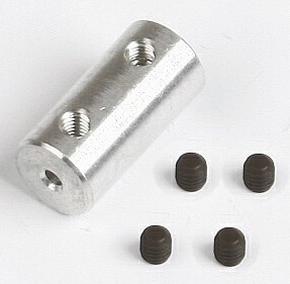 Graupner SZ1018.5 ALU askoppeling asmaat 3x2mm