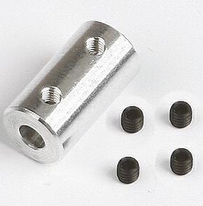 Graupner SZ1018.10 ALU askoppeling asmaat 4x4mm