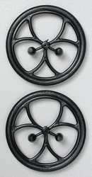 "Dubro 200ML Micro Lite Wheels  38mm  2"" (2) 2gram"