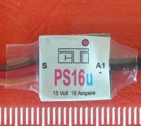 CTI PS16u mini MULTI-SWITCH  1-kanaal van 16Amp op 1/2CH