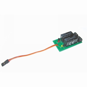 Graupner Nautic Multiswitch relais Dubbel omkeer 1ch 4159.3