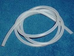 Graupner Brandstofslang Siliconen 4,5/1,5mm  1 Mtr nr. 1638