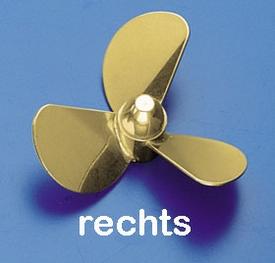 Rivabo Krick Ms-Propeller Rechts 3-Bl. 130mm, M5 nr. 535-131  Pakket