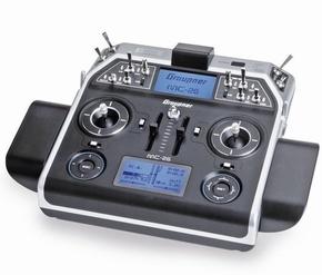 MC-26 Graupner HoTT 16 channel Alleen zender! S1036.77  Pakket