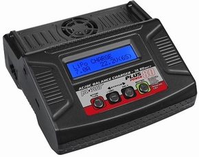 Rc Plus Power Plus 80 Charger  AC-DC 80 Watt RC-CHA-212  Pakket