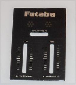 Futaba FX20-FX22 - Optionsplatzabdeckung Linear 1stuks