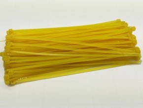 Robbe Kabelbinder Tie-wrap GEEL 150x3mm  zakje 100stuks  Envelop