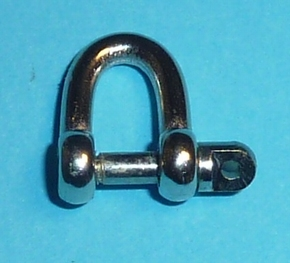 Aeronaut 5022/19 Schakel D-sluiting M2 12x8x1,9mm