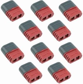 Deans-T male connector with cap 10 stuks Robbe  Envelop