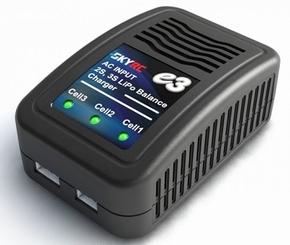 SkyRC Sk-100081 E3 Lipo Balance Charger AC Input 2-3s XH  Pakket