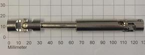 Kruis Koppeling Dubbel 5-5mm lengte 90-120mm , Robbe 5218  Envelop