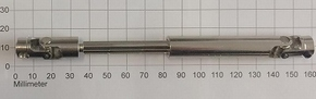 Kruis Koppeling Dubbel 5-5mm lengte 115-150mm , Robbe 5219  Envelop