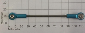 Robbe 5197 stuurstangen M4 + ALU kogelgewrichten  Envelop