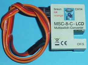 Beier Multiswitch-Conv MSC-8-C-LCD , Reflex Stick Multi LCD  Envelop