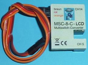 Beier Multiswitch-Conv MSC-8-C-LCD , Reflex Stick Multi LCD