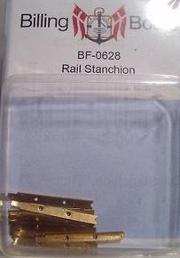 Billing Boats BF0628 Relingstütze flach 23 mm 3w (10stuks)  Envelop