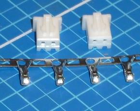 Balancer XH stekker 2 polig 1S lipo, setje 2 stuks 73042