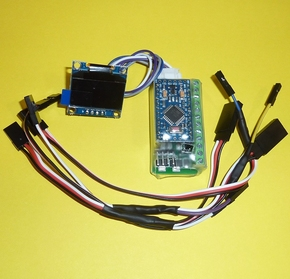 RC-LAB Oled Dashboard en Lightsysteem NANO-arduino  Envelop