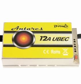 D-Power 9203 Antares 12A UBEC Regler 2-14S 5-8V