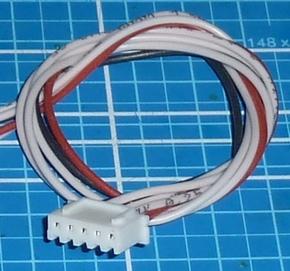 Balanceer aansluiting 4S XH stekker 30cm siliconen 58476