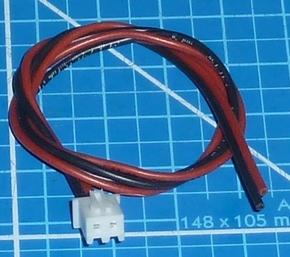 Balanceer aansluiting 1S XH stekker 30cm siliconen 58429  Envelop