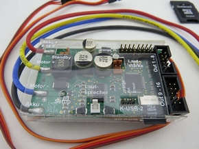 Beier SFR-1 Soundmodule + Rijregelaar + Lichtset in een  Pakket