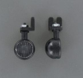 Veroma 220983 Mistlamp Schijnwerper rond 12mm 1:16 2 stuks  Envelop