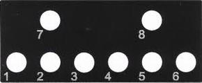 Beier SB-24-G Schalterblende voor NMS-24-G of EMS-24-G  Envelop