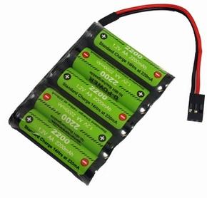 D-Power CD-2200 6V FLAT NiMH AA Akku, CD22006R