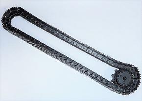 Metalen track 1x compl 53 schakels  Huina 1580 Graafmachine  Pakket