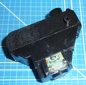 Motor bucket of midarm spindel V2  Huina 580 Graafmachine  Pakket