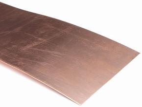 Graupner 572.0,2 Koperplaat Kupferblech 500x100x0,2 mm