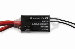 Graupner GR-12L HOTT 12-32 ch  met SUMD+ telemetrie S1051