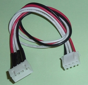 Balanceer Verleng Kabel 20cm XH 3S-4P LiPo, AM12033S